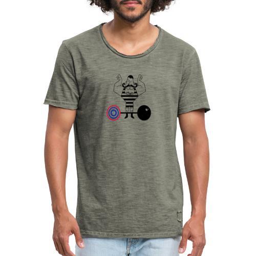 uomo_forzuto3-0 - Maglietta vintage da uomo