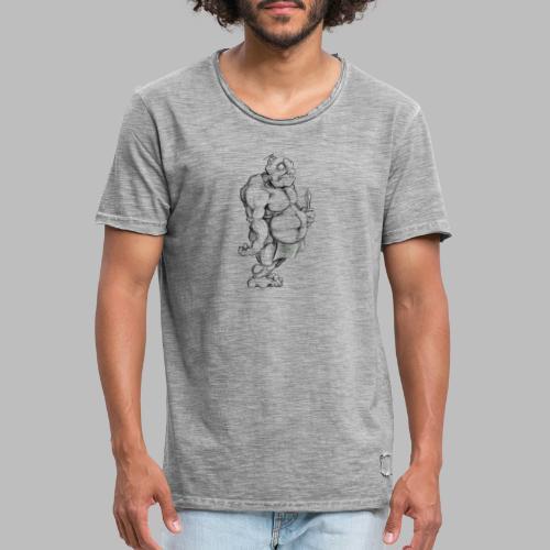 Big man - Männer Vintage T-Shirt
