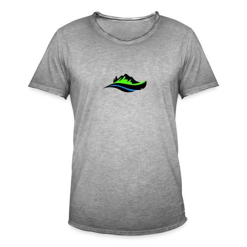 Modern Hoodie Unisex - Vintage-T-shirt herr