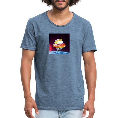 Semmel 3 - Vintage-T-shirt herr