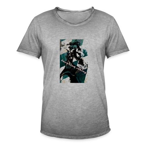 bavarian vikings - Männer Vintage T-Shirt