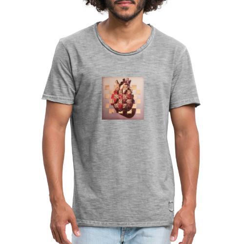 inteligencia emocional - Camiseta vintage hombre