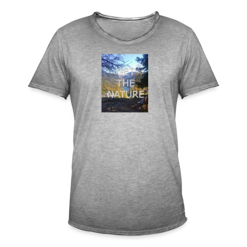Get the Nature - Männer Vintage T-Shirt