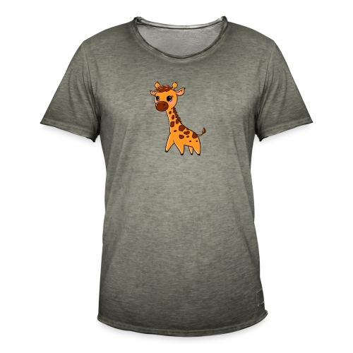 Mini Giraffe - Men's Vintage T-Shirt