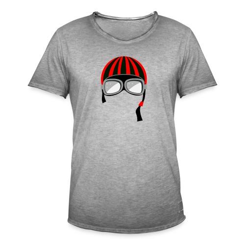 red_helmet-png - Maglietta vintage da uomo