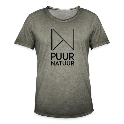 PUUR NATUUR FASHION BRAND - Mannen Vintage T-shirt