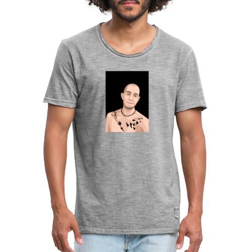 Justin Ahlberg Art - Vintage-T-shirt herr