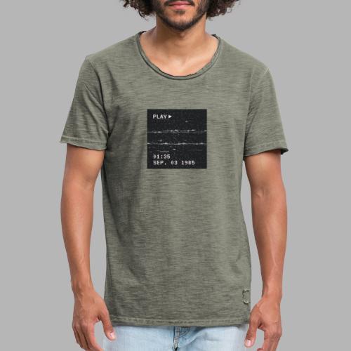 NX SURRXNDXR LOGO - Mannen Vintage T-shirt