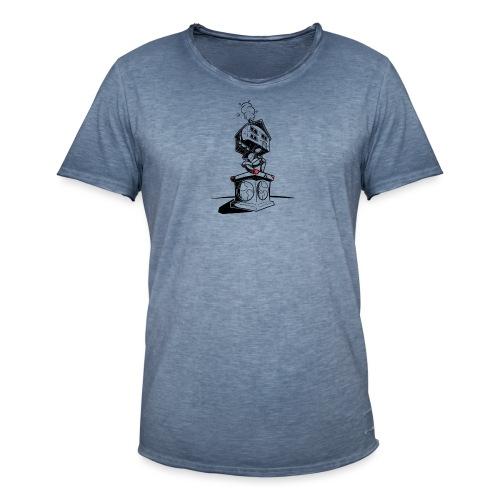 sokkel drager - T-shirt vintage Homme