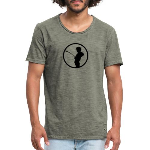 Manneke Pis - T-shirt vintage Homme