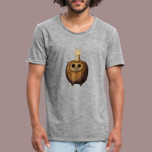 Kugelkatz - Männer Vintage T-Shirt