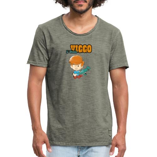 LDinoViggo Logo total - Herre vintage T-shirt