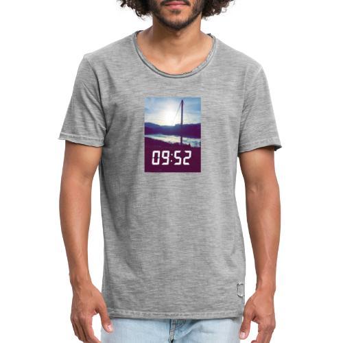 Snap 9h52 - T-shirt vintage Homme