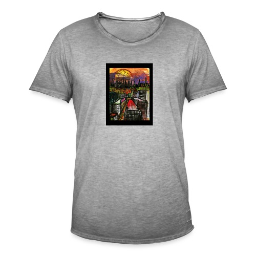 Atardecer - Camiseta vintage hombre