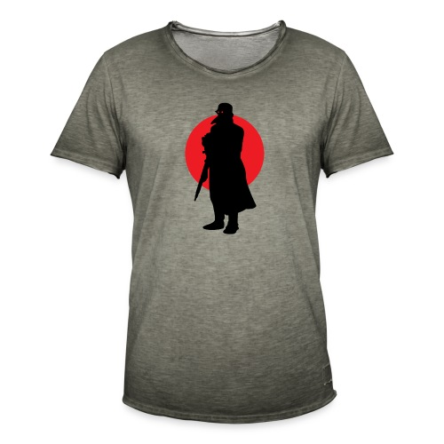 Soldier terminator military history army ww2 ww1 - Men's Vintage T-Shirt