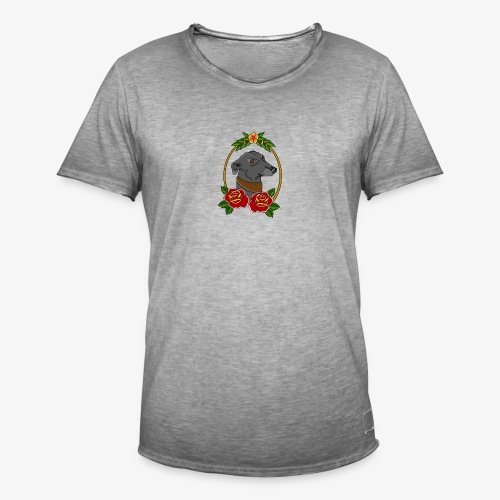 Blue Greyhound - Men's Vintage T-Shirt