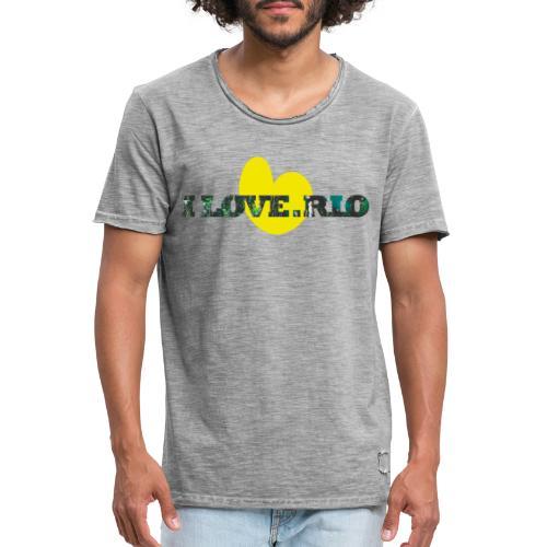 ILOVE.RIO TROPICAL N°1 - Men's Vintage T-Shirt