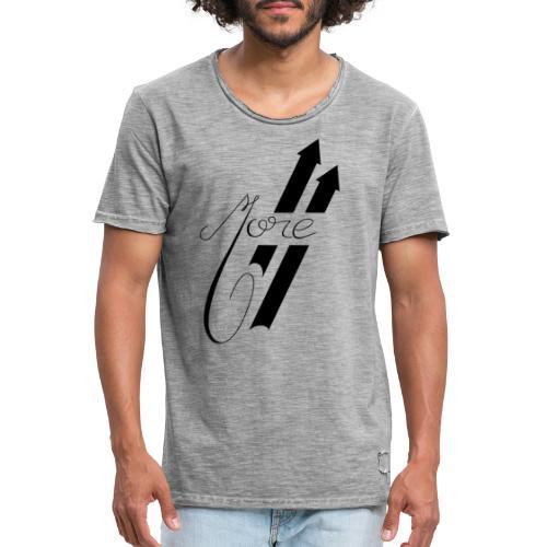 More : Faites Plus - T-shirt vintage Homme