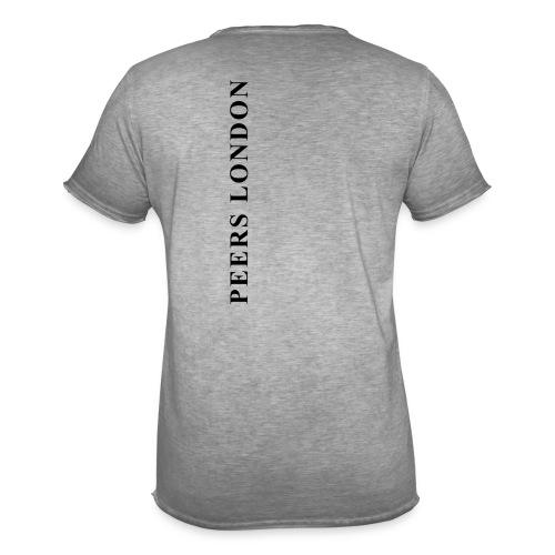 PEERS LONDON - Camiseta vintage hombre