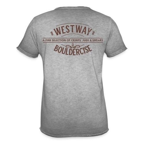 westway-crimps distressed - Men's Vintage T-Shirt