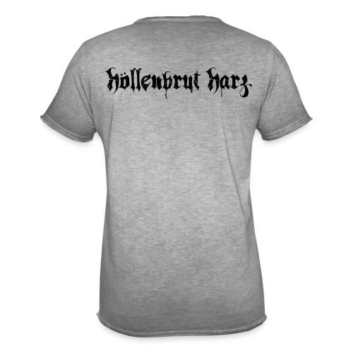 Schriftzug - Männer Vintage T-Shirt
