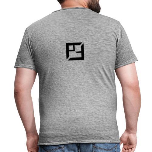 Team Pique - Vintage-T-skjorte for menn