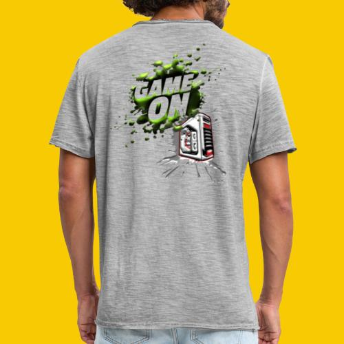 GAMEONE - T-shirt vintage Homme