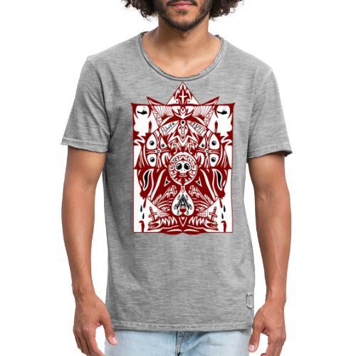 Tattoo Art - Männer Vintage T-Shirt