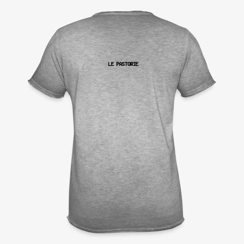 Subtiel_Zwart - Mannen Vintage T-shirt