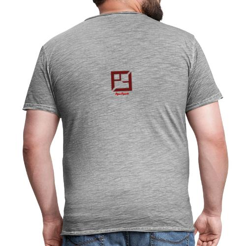 Pique E-Sports - Vintage-T-skjorte for menn
