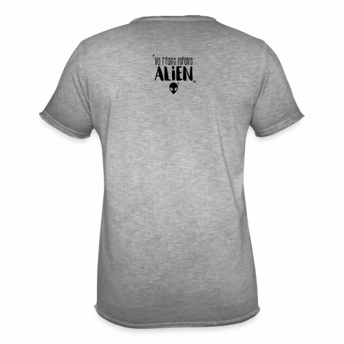 Va te faire refaire ALIEN - T-shirt vintage Homme