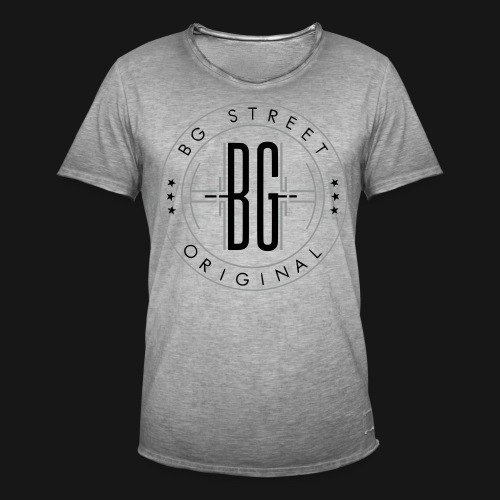 BG STREET Logo 2 - T-shirt vintage Homme