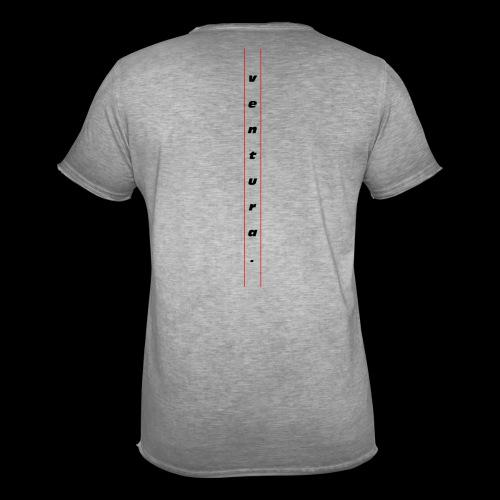 Ventura Back Logo - Mannen Vintage T-shirt