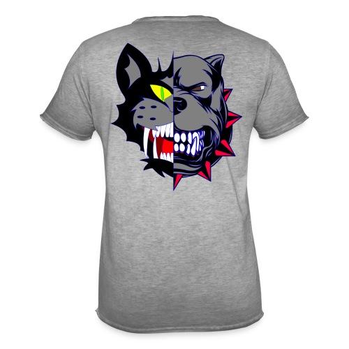 Catz Dog - T-shirt vintage Homme