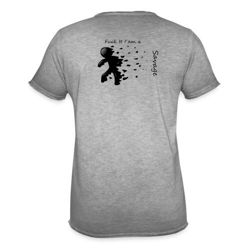 Savage Stick man Tee And Hoodie - Herre vintage T-shirt