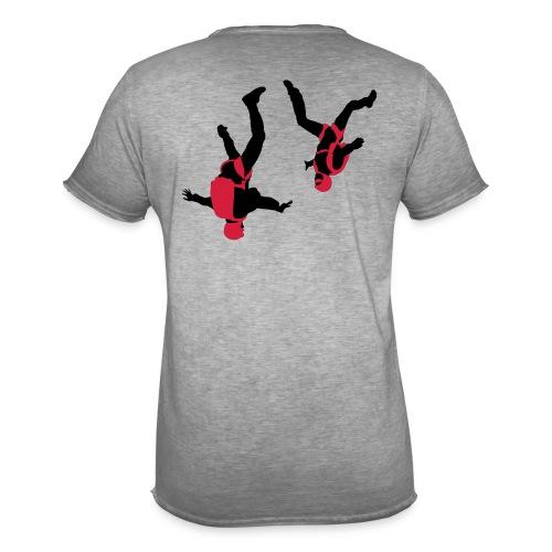 parachutisme Free Fly - T-shirt vintage Homme