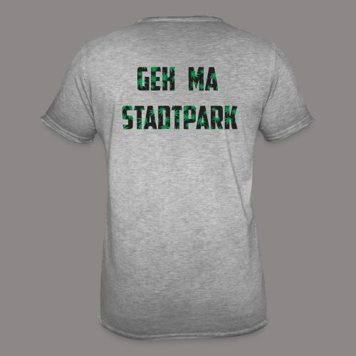 Geh ma Stadtpark - Männer Vintage T-Shirt