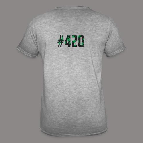 420 - Männer Vintage T-Shirt