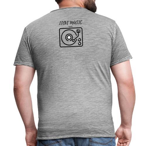 oie transparent - Camiseta vintage hombre