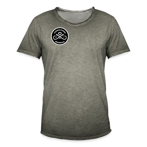 StrikeLovers Circle Vector - Männer Vintage T-Shirt