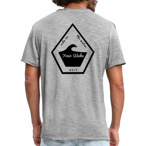 Your Wake Logo - Männer Vintage T-Shirt