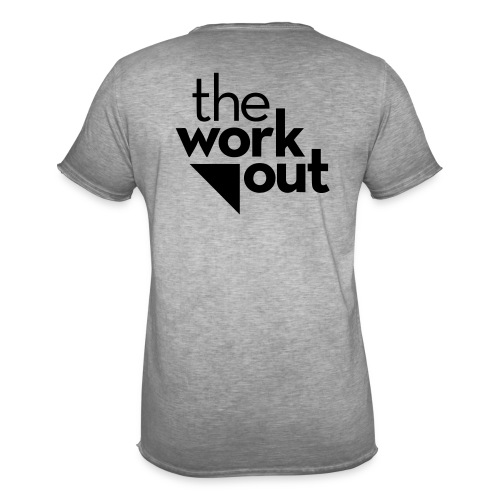 the WORKOUT - Maglietta vintage da uomo
