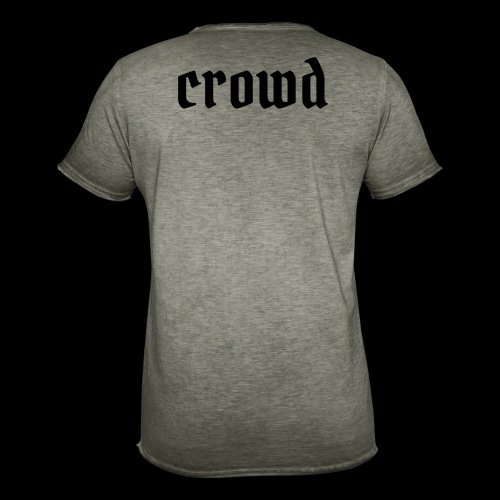 crowd - Männer Vintage T-Shirt