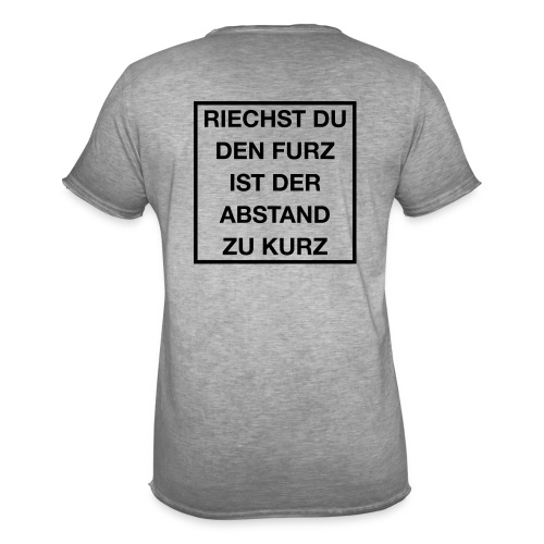 Furz - Männer Vintage T-Shirt