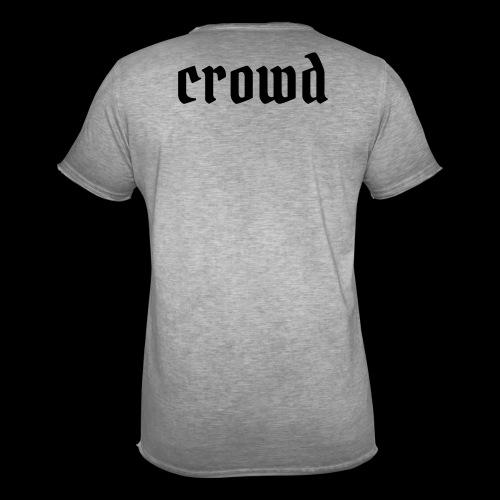 crowd - Männer Vintage T-Shirt