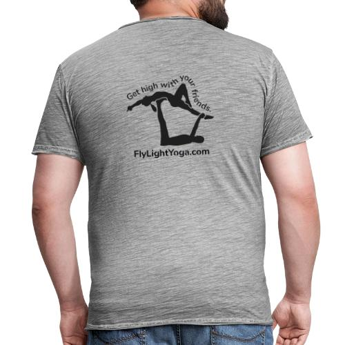 AcroYoga: Get high with your friends - Men's Vintage T-Shirt