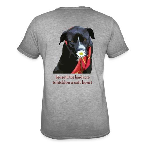 Johnny Flower - Männer Vintage T-Shirt