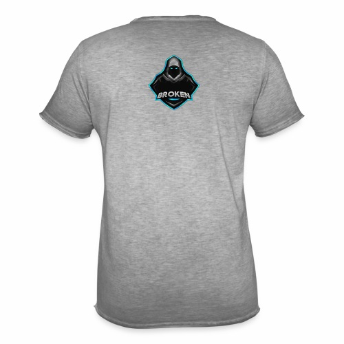 Collection Mascotte │ Br0Ken - T-shirt vintage Homme