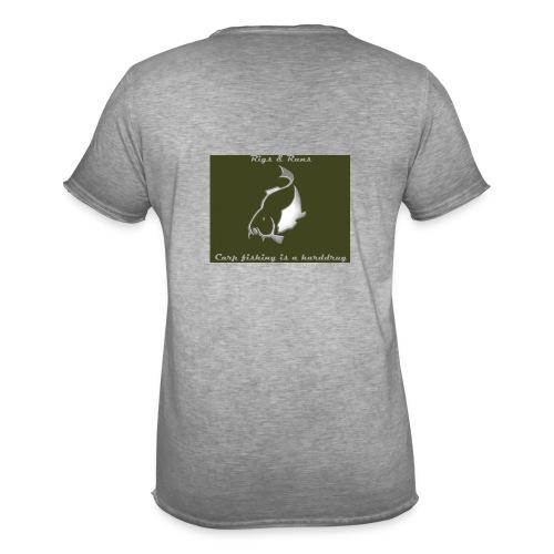 Rigs & Runs - Mannen Vintage T-shirt