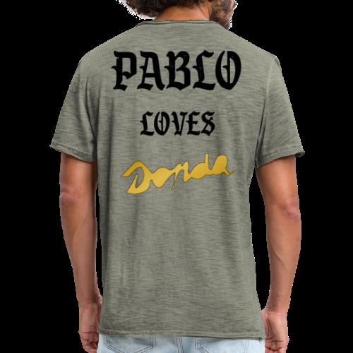 Pablo loves Donda - T-shirt vintage Homme